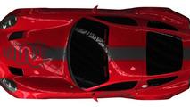 Zagato Alfa Romeo TZ3 Corsa race car teaser, 1280, 21.03.2010