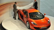 McLaren MP4-12C Press Launch, Woking, England, 18.03.2010