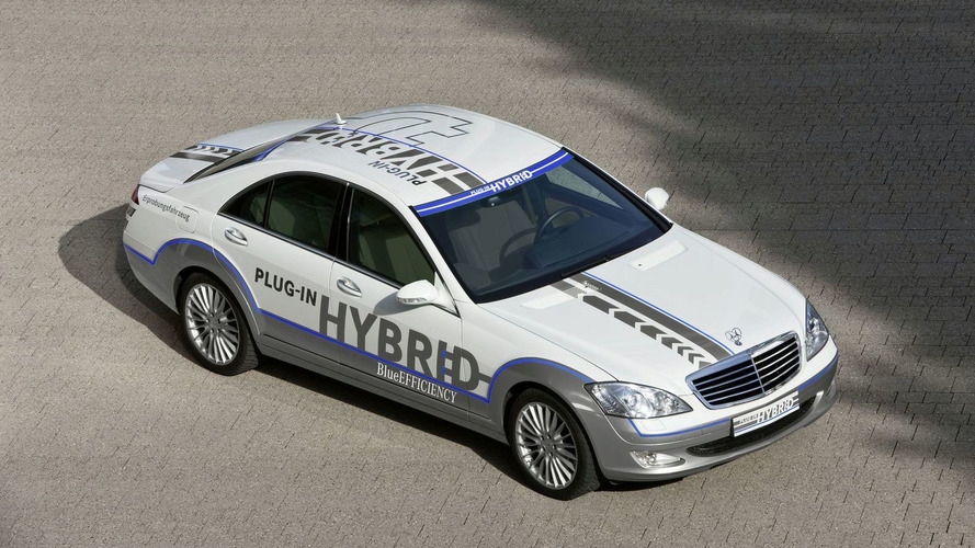 Next Generation Mercedes S-Class with Plug-in Hybrid Technology Could get 81mpg