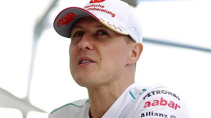 Manager says Schumacher 'improving'