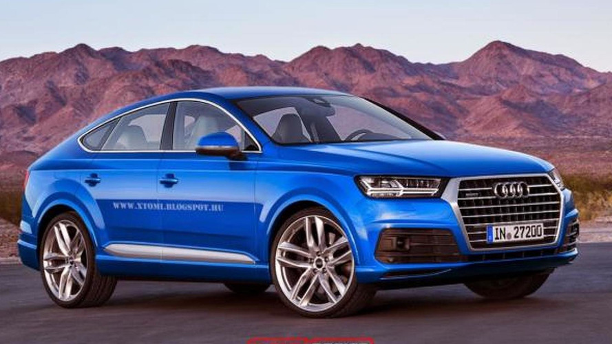 Audi Q8 unofficially rendered to rival X6 and GLE Coupe