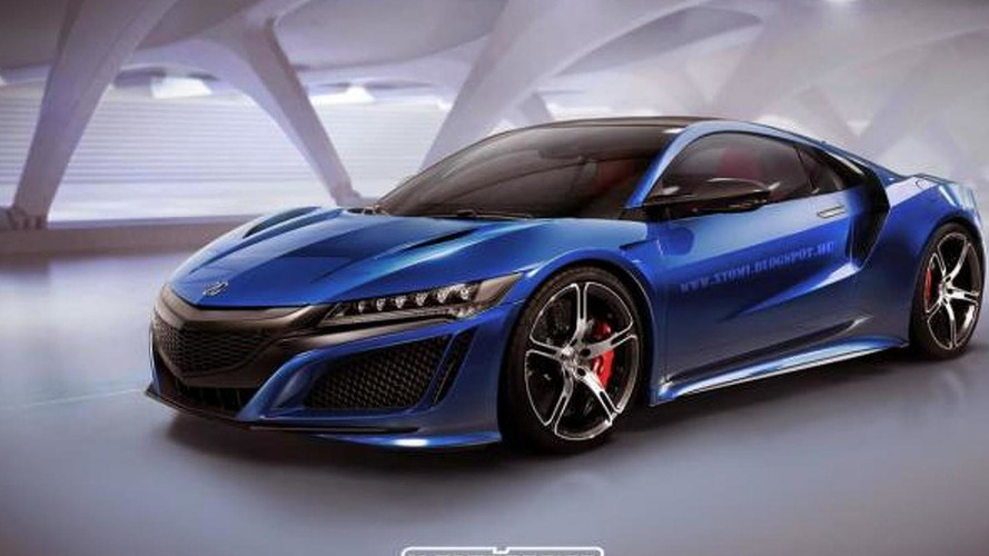 Acura NSX Type R rendered, will eventually happen