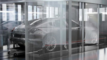Official render from Porsche Design Tower Miami shows a mysterious mini Panamera model