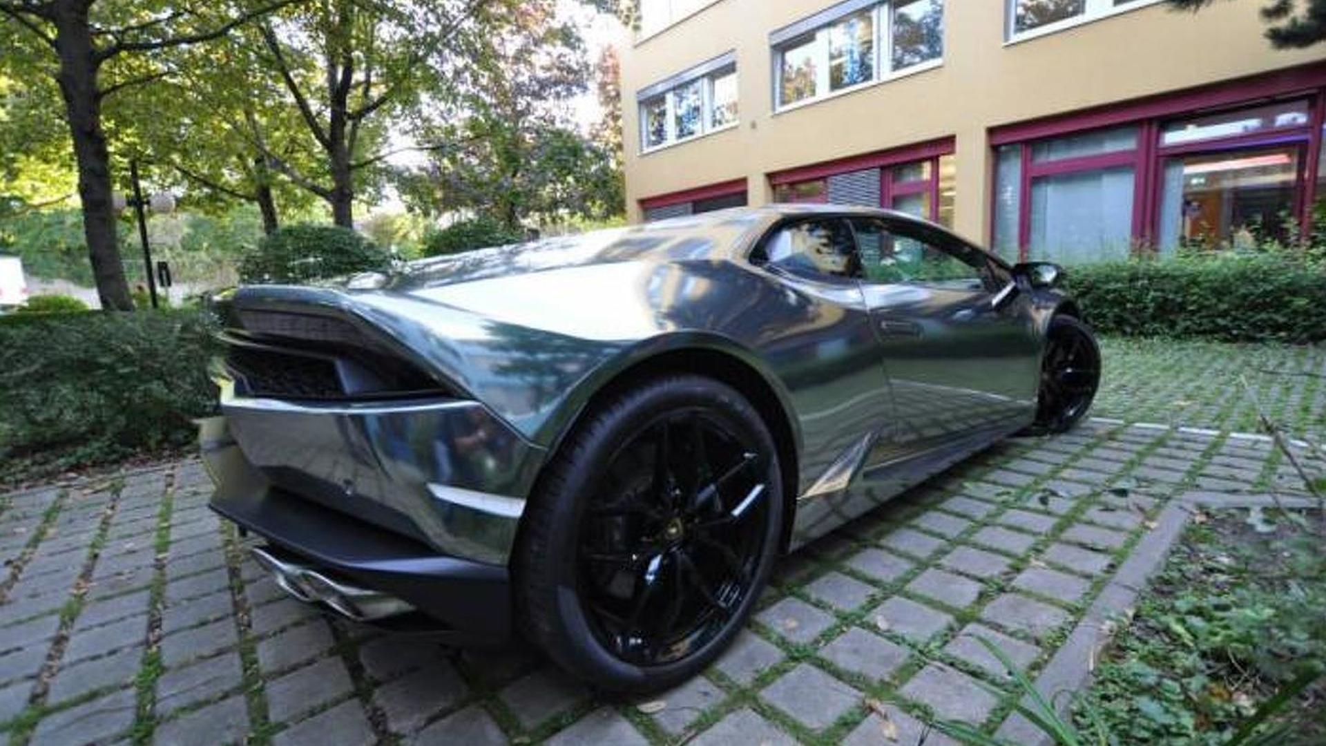 Зеркальный Lamborghini Huracan от Print Tech