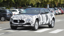 2016 Maserati Levante mule