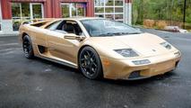 Rare Lamborghini Diablo 6.0 SE with Oro Elios paint up for grabs (70 pics)