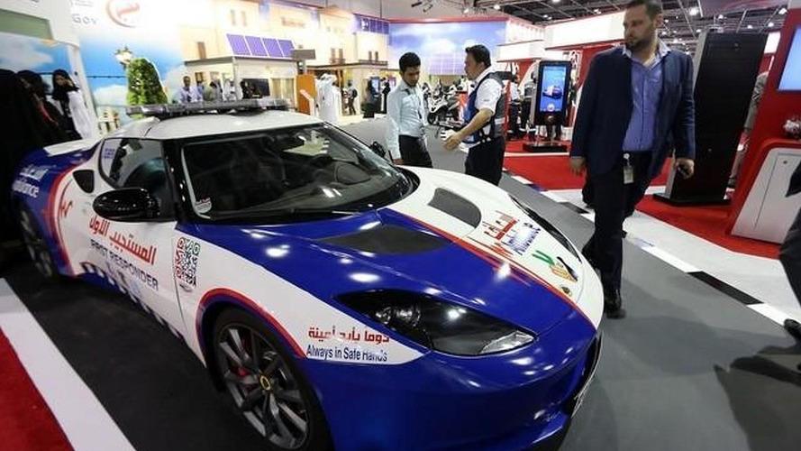 Dubai paramedics get Lotus Evora first response vehicle