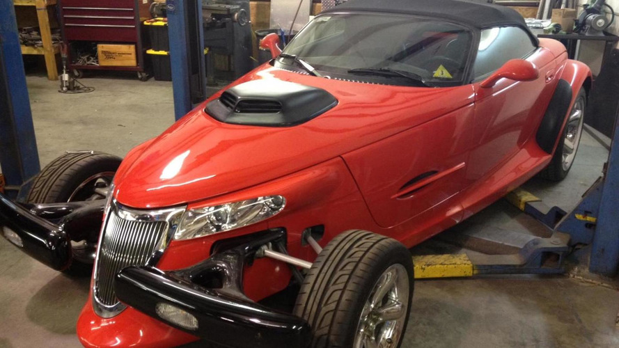 Plymouth Prowler with HEMI V8 6.1-liter engine