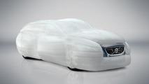 Volvo V40 air bag External Vehicle Protection system