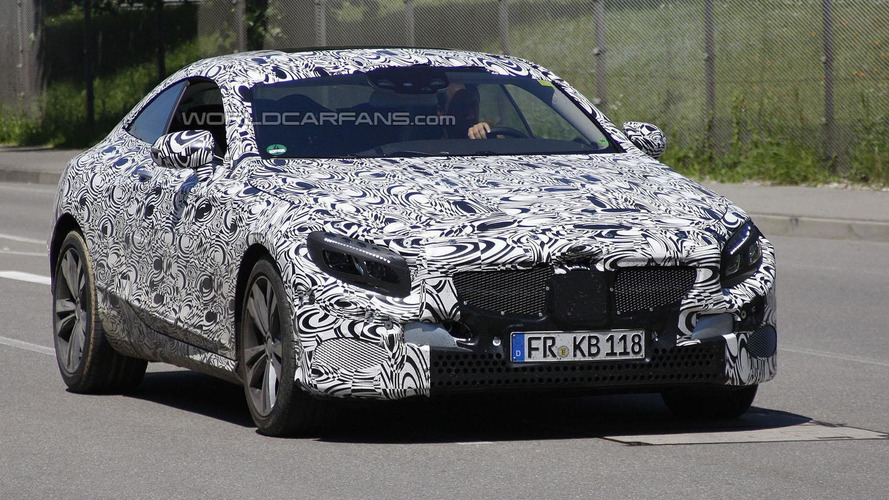 2014 Mercedes CL / S-Class Coupe spied undergoing testing