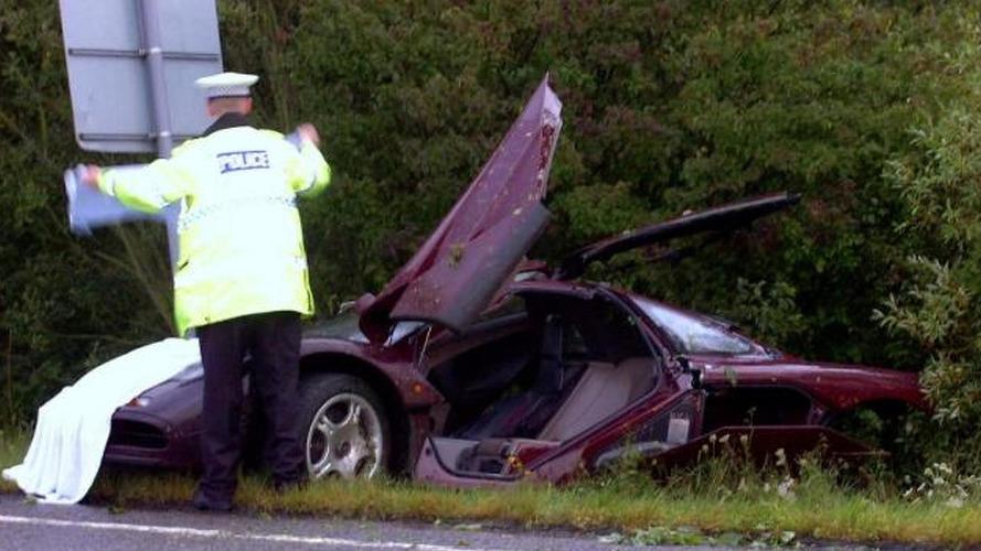 Rowan Atkinson's McLaren F1 cost insurers 910,000 GBP to repair