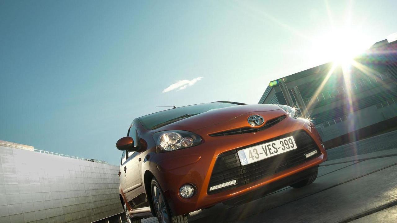 Toyota Aygo Fire Edition 21.2.2012
