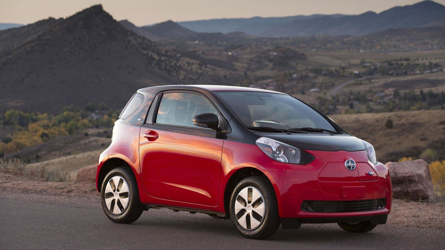 2013 Scion iQ EV revealed