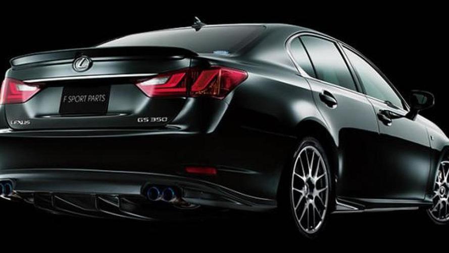 2013 Lexus GS TRD / F Sport accessories revealed