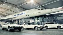 Citroen DS5 with Concorde 23.12.2011