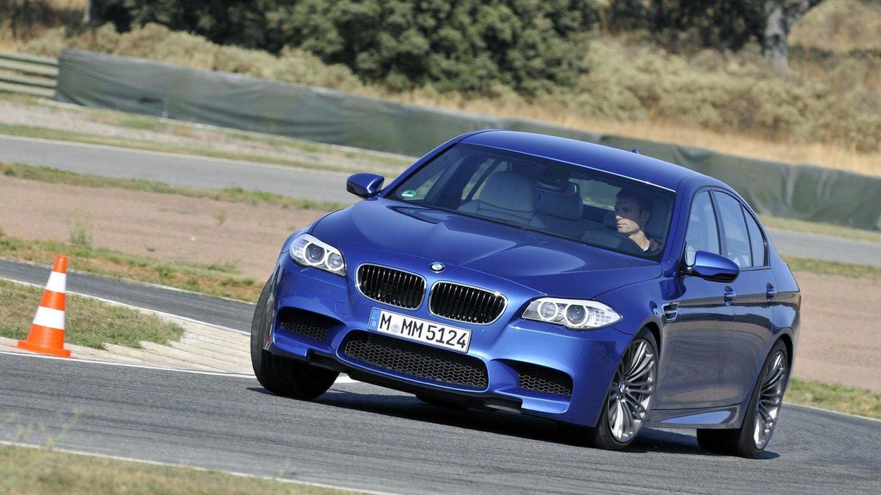 2012 BMW M5 in the Forza Motorsport 4 video game 14.10.2011