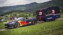 Red Bull, carrera de caravanas