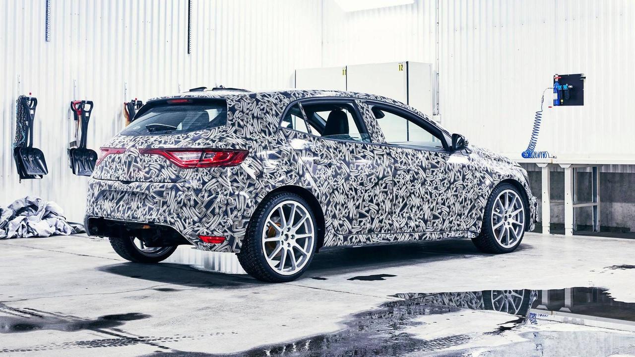 Renault Megane RS Camouflaged