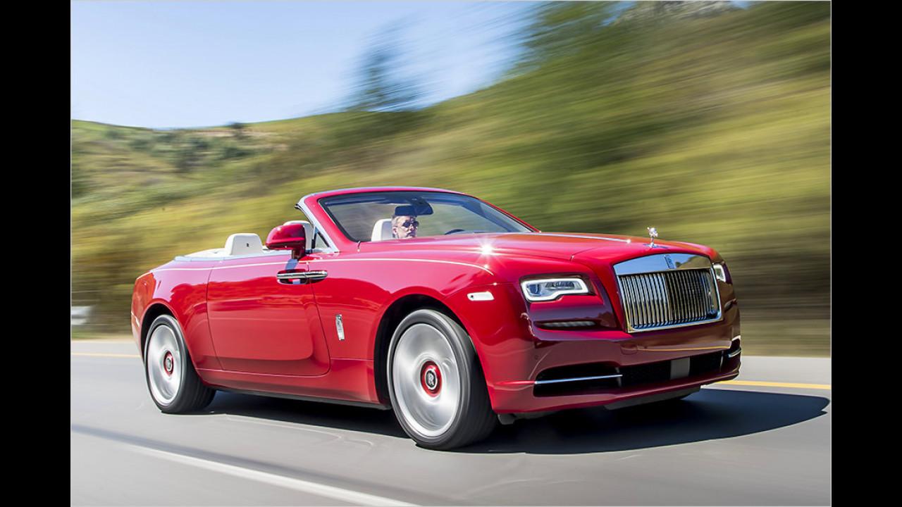 Der Golfspieler: Rolls-Royce Dawn