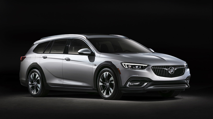 2018 buick regal arrives with sportback and tourx body styles. Black Bedroom Furniture Sets. Home Design Ideas