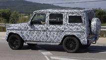 Mercedes Clase G 2018 fotos espía
