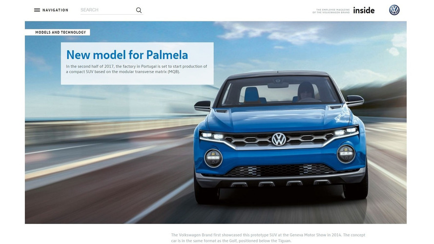 2014 VW T-Roc konsepti