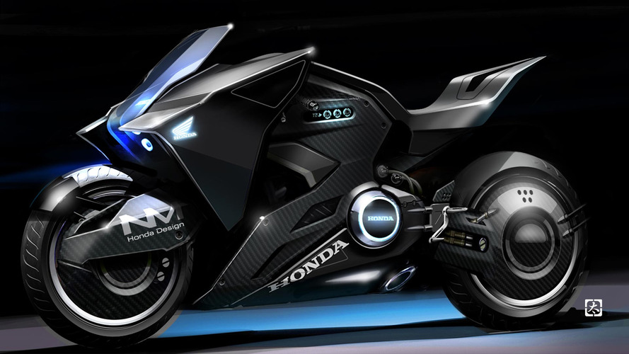 ScarJo rides sick Honda motorcycle concept in Ghost in the Shell