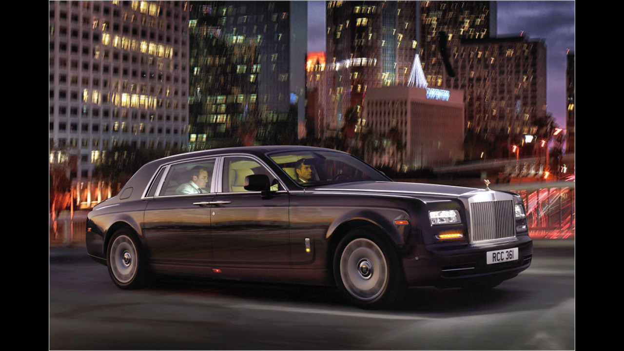 Platz 5: Rolls-Royce Phantom EWB