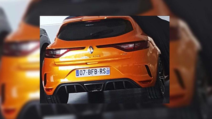 Renault Megane RS leaked images