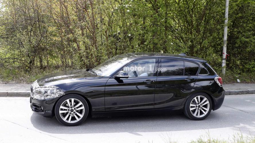 Arkadan itişli BMW 1 Serisi son makyajında