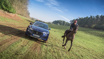 Maserati Levante versus horse