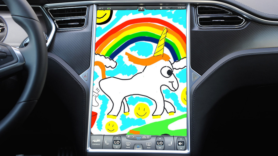Latest Tesla Easter Egg Lets You Send Sketches To Elon Musk