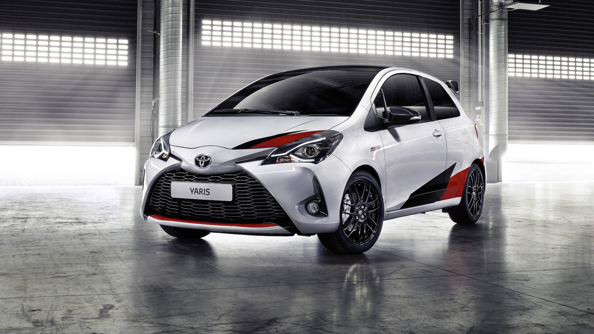 toyota yaris grmn limited to 400 units in europe. Black Bedroom Furniture Sets. Home Design Ideas
