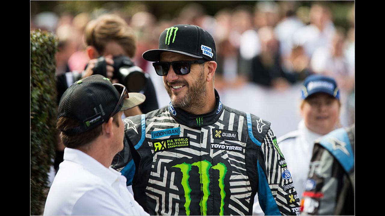 Ken Block über seine Chancen und Ziele in der World-Rallycross-Championship …