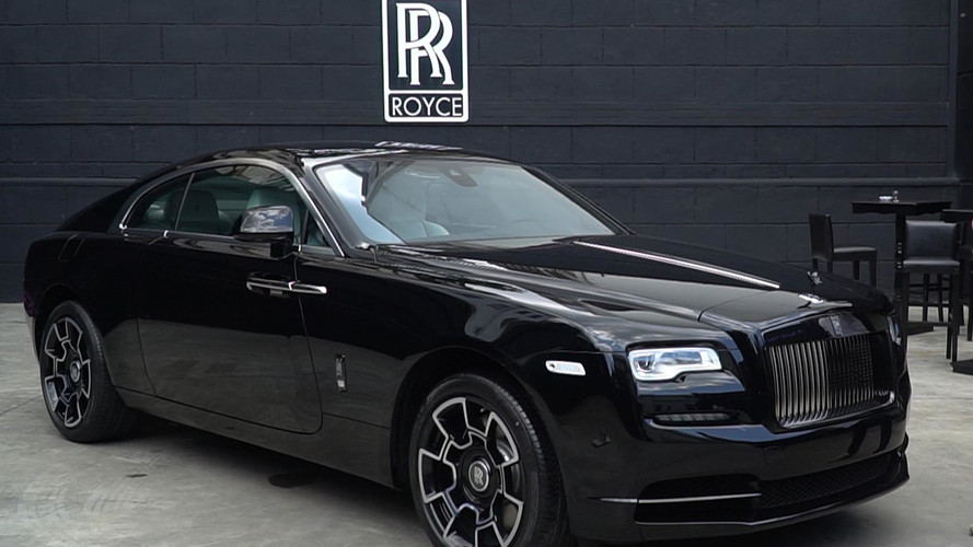 Rolls-Royce Wraith Black Badge Türkiye'de!
