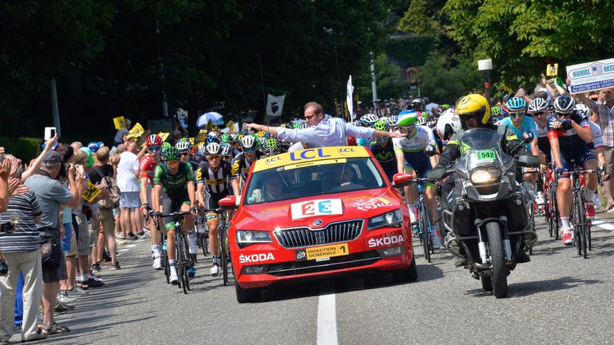 Škoda sur les routes du Tour de France 2017
