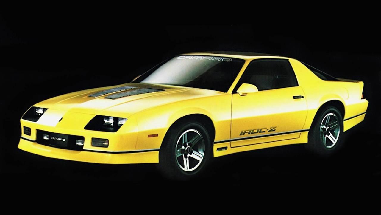 4. 1985 Chevrolet Camaro IROC-Z