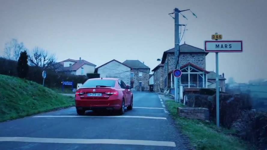 Skoda Releases Video Proof Of Sending Superb To Mars