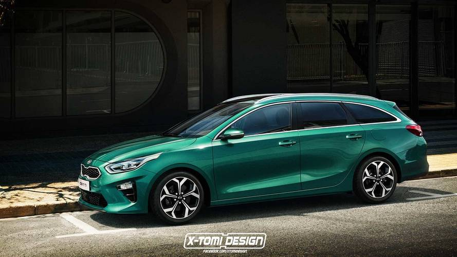 2018 Kia Ceed Gets Wagon And Fastback Virtual Conversions