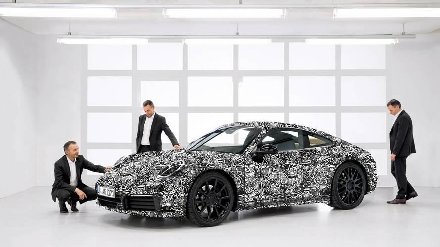 2019 Porsche 911 resmi tanıtımına erken başlıyor