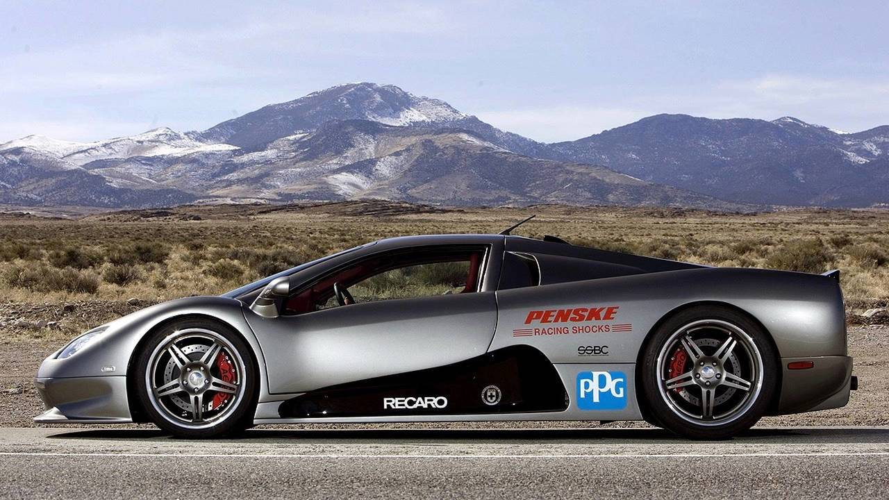 SSC Ultimate Aero - 412 km/h
