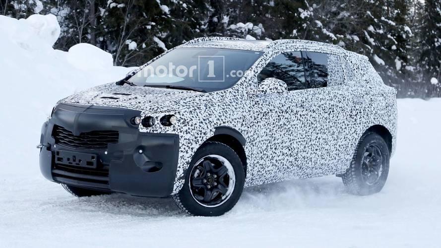 New Vauxhall Mokka X spied –probably hiding new PSA platform
