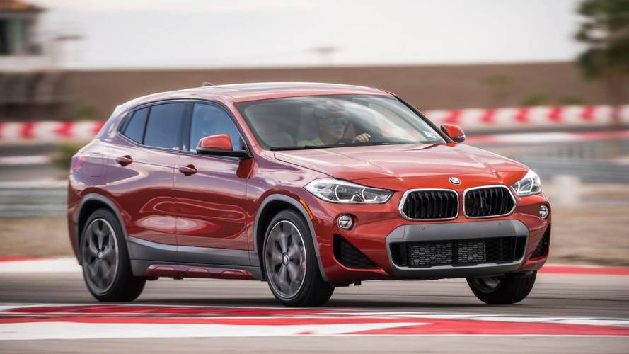 2018 bmw x2 spied riding low at the nurburgring. Black Bedroom Furniture Sets. Home Design Ideas