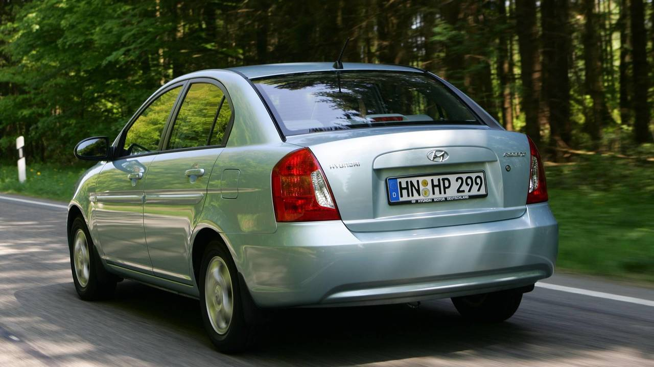 2006-2010 Hyundai Accent Sedan