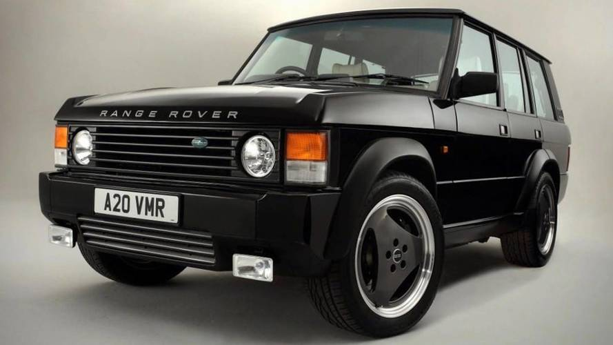 This Range Rover Chieftain Packs CTS-V Power
