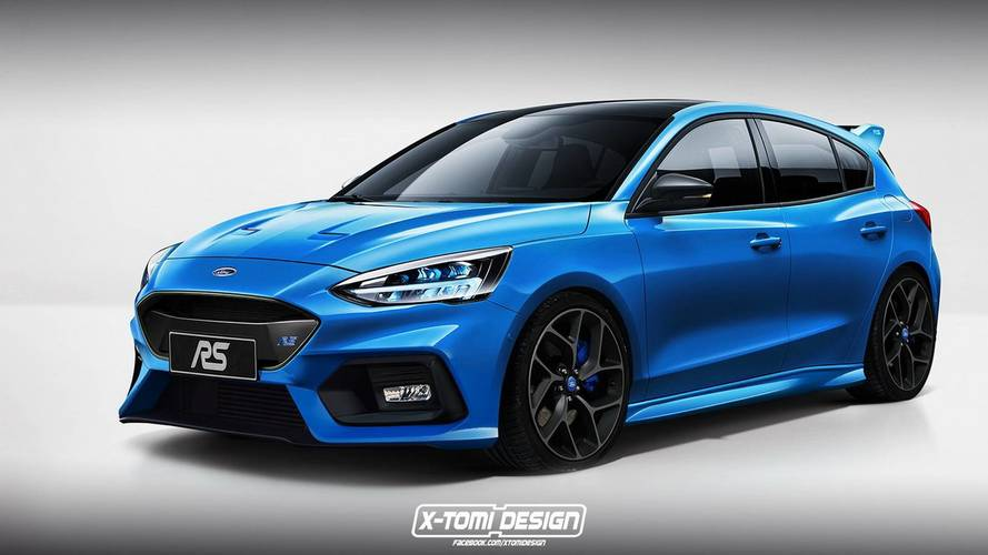La nouvelle Ford Focus déjà imaginée en versions ST et RS