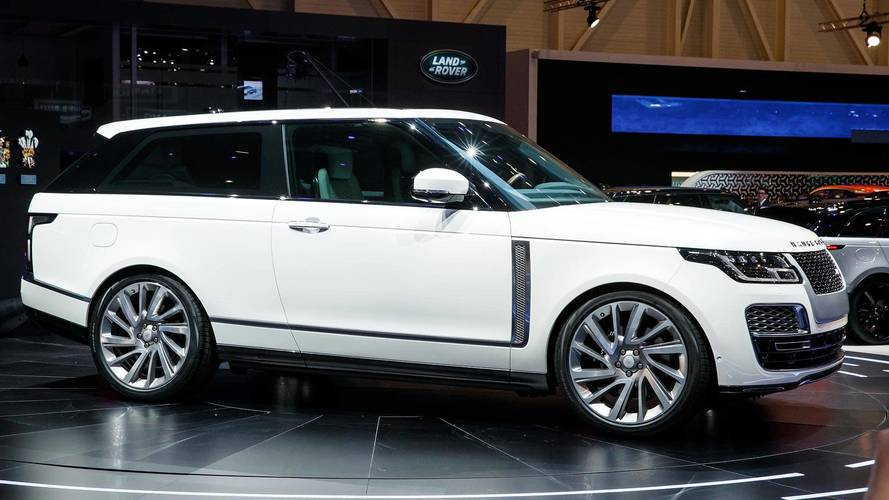 Range Rover SV Coupe Is An Ultra-Expensive Two-Door SUV