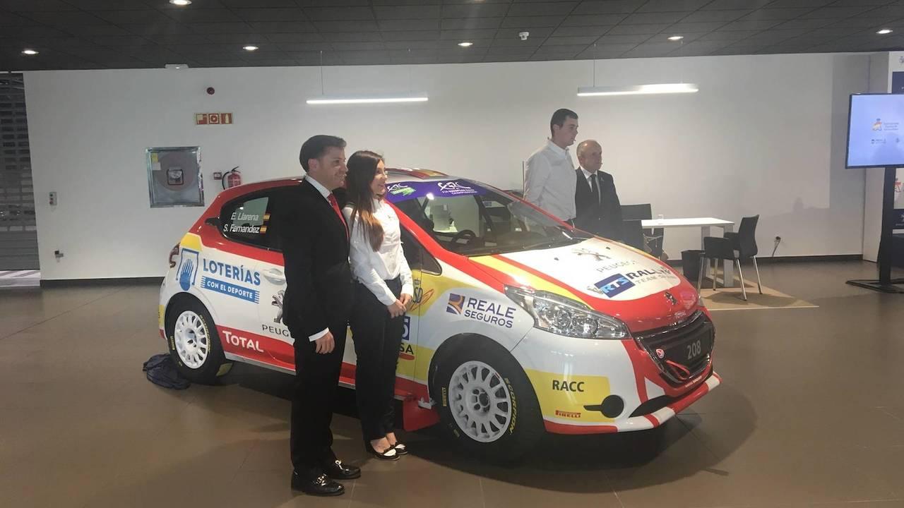 Peugeot 208 Rally España ERC