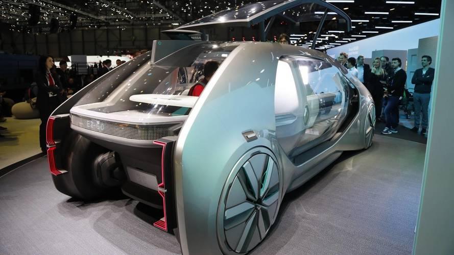 Genève 2018 - Renault dévoile l'EZ-GO concept, la navette du futur