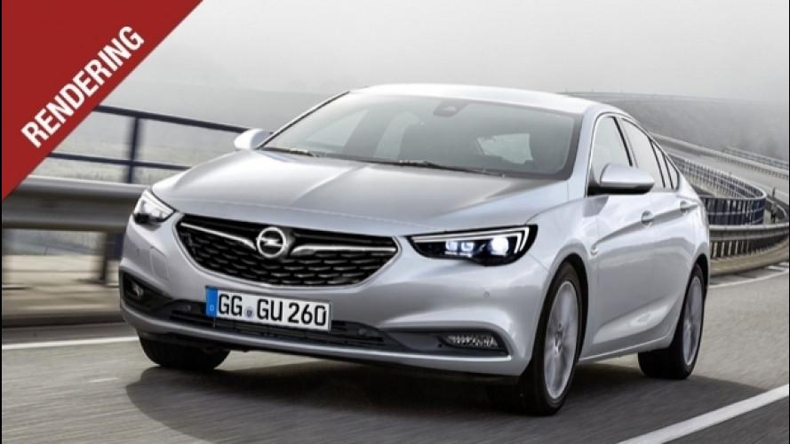 Nuova Opel Insignia, avrà forme da coupé